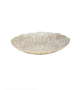 Coppa centro tavola vetro diam 34 cm
