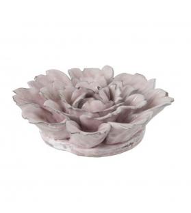 Fiore Piatto Ceramica Rosa 16x16x8cm