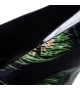 Cuscino Divano Piume Pavone Nero Verde 45x45 cm