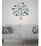 Albero della Vita decorazione da parete Ferro 89x2,5x90 cm