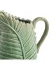 Brocca Foglia Verde Ceramica 28 X 15 X 32 CM