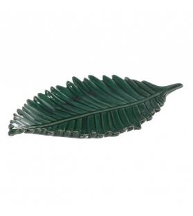 Vassoio Foglia Tropical Verde Scuro 35,70 X 16,50 X 4,50 CM