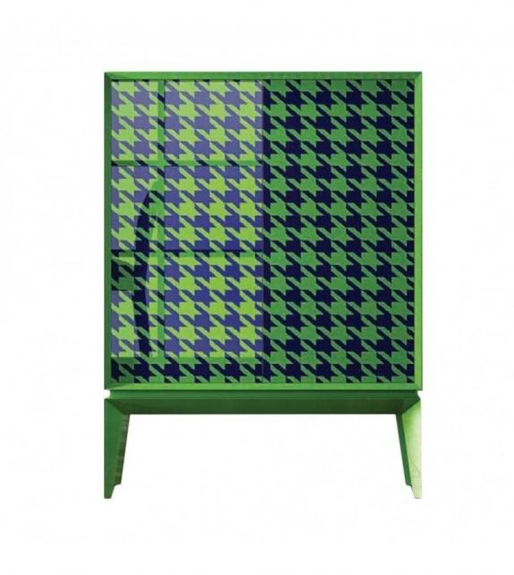 Mobile Contenitore Triangle Cocò Verde Blu