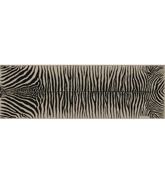 Runner da tavolo in vinile Zebra 33x100 cm