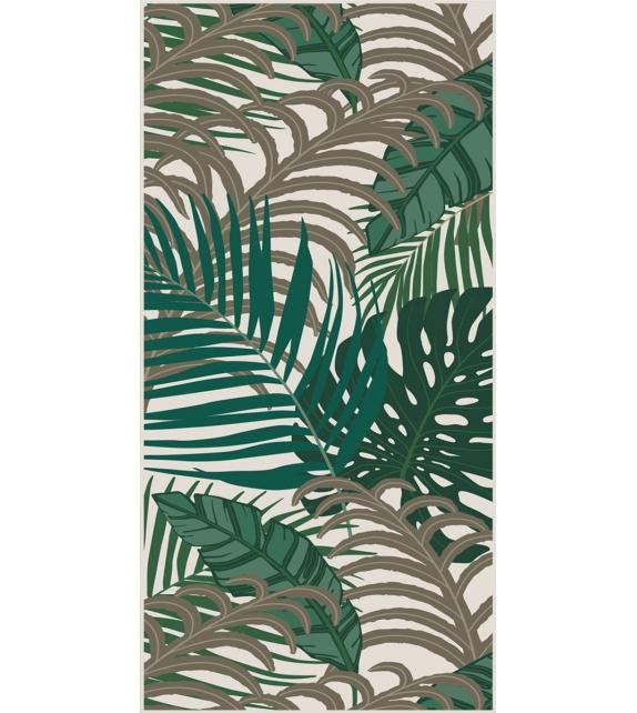 Tappeto in Vinile Tropical Leafs Pvc 66x132 cm