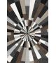 Tappeto in vinile Wood Star 99x150 cm
