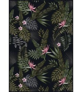Tappeto in vinile Dark Tropics 139x198 cm