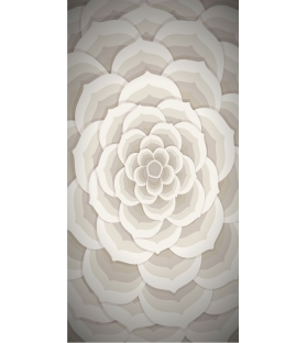 Tappeto in Vinile Beauty Flower Pvc 66x132 cm