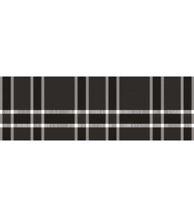 Runner da tavolo in vinile Dark Tartan 33x100 cm