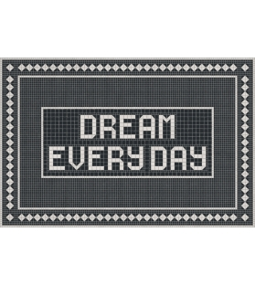 Tappeto Vinile Dream Every Day 99x150 cm