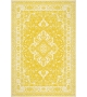 Tappeto Antic Persian Vinile Giallo Yellow Pvc 99x150 cm
