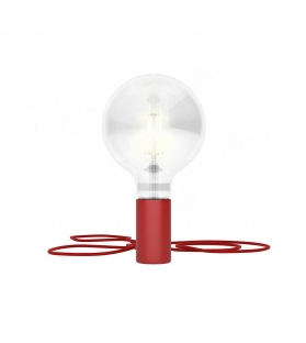 Lampada Magnetico Plug Rosso
