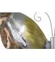 Farfalla in ferro Ricamo decorazione parete 35X2,5X32,5