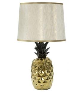 Lampada da tavolo Ananas Oro Nero Ø 25X46
