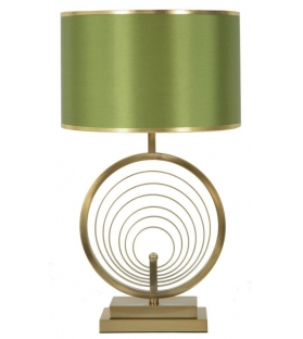 Lampada da tavolo Gold Circles Ø 38X65