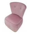 Poltrona Lady Pink & Gold 60X55X79