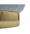 Pouf Plissè Contenitore CelesteØ 41x41 cm
