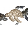 Pannello Tartarughe Decorazione Parete 105X7,5X48,5 cm