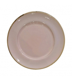Piatto Piano Ceramica Collezione Vintage 24cm