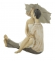 Statua Coppia Innamorati con Ombrello