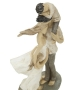 Statua Famiglia Unita Resina h36 cm