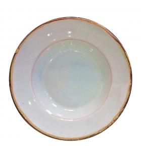 Piatto Piano Ceramica cm. 24 Collezione Vintage