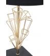 Lampada da tavolo di Design Triangles Oro e Nero Ø 25X h45