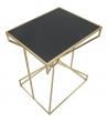 Tavolino Alto Chain Metallo 57X46Xh68
