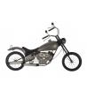 Pannello da Parete Moto Harley Ferro 103X5,5X69