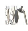 Pannello Decorativo da Parete Exagon Metallo 135X5X67,5