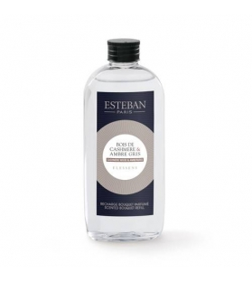 Esteban Paris Ricarica Elessens per Bouquet Profumato - Cashmere wood & Ambergris 150ml