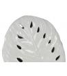 Vaso Foglia traforato bianco