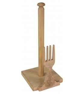 Porta rotolo scottex cucina con forchetta