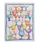 Strofinaccio in Lino Bicchieri Crystal 50x70 cm