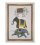 Strofinaccio in Lino Barnum Elefanti 50x70 cm