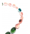 Collana Collier Pietre in resina Corsari Giallo Verde Rosa
