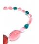 Collana Big Stones in resina Corsari Verde Arancione Rosa