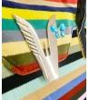 Borsa a mano Multicolor Velluto con manici