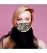 Cover per mascherina Brown Leaves Altamoda