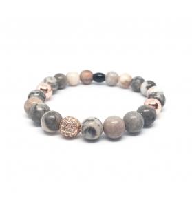 Bracciale Chiara con zircone e pietre naturali