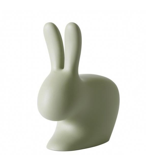 Sedia Rabbit Chair Qeebo verde per bambini