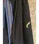 Gonna Jeans con cinta lurex