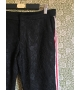 Pantaloni Nero Trasparente