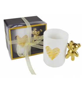 Tazza Mug manico Orsetto Gold