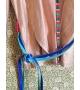 Giacca Lurex Cipria con cinta