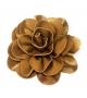 Spilla Rosa Gold Tessuto Ø 15cm