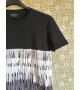 T-shirt Frange Velo Multicolor