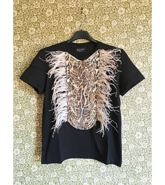 T-shirt Leo Feather