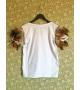 T-shirt Wing Strass Woman
