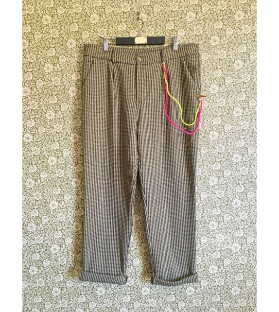 Pantaloni Pied De Poule